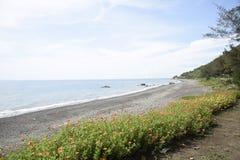 Kenting海滩 免版税图库摄影