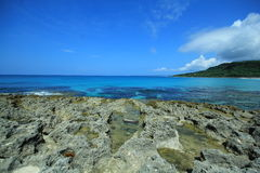 Kenting blue sea Royalty Free Stock Images