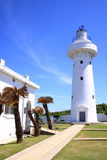 Kenting lighthouse. Take the photo at kenting of taiwan on 2009 june Royalty Free Stock Photography