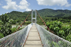 Kenting lover bridge Stock Image