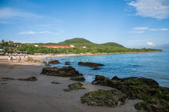 Kenting National Park Little Bay Beach Royalty Free Stock Image