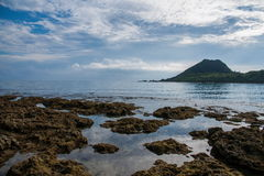 Kenting National Park Little Bay Beach Stock Images