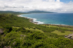 Kenting National Park. The park is a national park located in the Taiwan. It is Taiwan's oldest and southernmost national park, covering the southernmost area of Royalty Free Stock Image