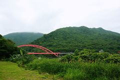 Kenting parkerar, Taiwan Arkivbild