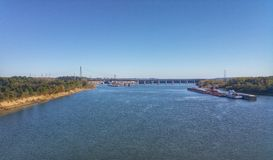 Kentoky rivier Royalty-vrije Stock Afbeelding