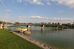 Kentpark dans la ville d'Eskisehir Photos libres de droits