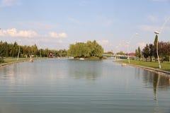 Kentpark dans la ville d'Eskisehir Image stock