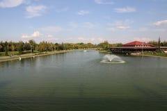 Kentpark dans la ville d'Eskisehir Photographie stock