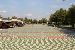 Kentpark dans la ville d'Eskisehir Photo stock