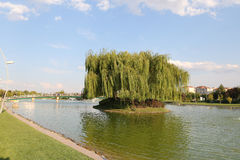 Kentpark dans la ville d'Eskisehir Images stock