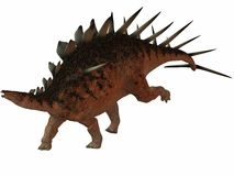 Kentrosaurus-3D Dinosaur Royalty Free Stock Photos