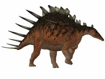 Kentrosaurus-3D Dinosaur Royalty Free Stock Images