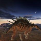 Kentrosaurus-3D Dinosaur Royalty Free Stock Image