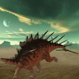 Kentrosaurus-3D Dinosaur Stock Images