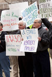 Kentuckians de encontro ao Senator Bunning Fotos de Stock Royalty Free