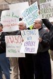 Kentuckians gegen Senator Bunning lizenzfreie stockfotos