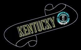 Kentucky ślimacznica ilustracja wektor