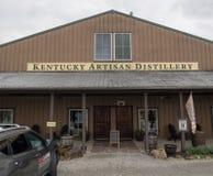 Kentucky Artisan Distillery. The Kentucky Artisan Distillery in central Kentucky royalty free stock photo