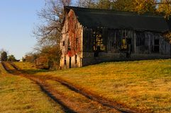 Kentucky Barn Stock Photo