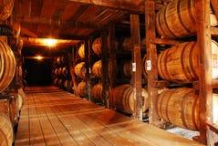 Kentucky bourbon, Starzeje się w baryłkach obrazy royalty free