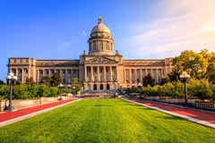 Kentucky Capitol. Capitol building in Frankfort, Kentucky royalty free stock images