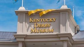 Kentucky Derby museum in Louisville - LOUISVILLE, USA - JUNE 14, 2019. Kentucky Derby museum in Louisville - LOUISVILLE, KENTUCKY - JUNE 14, 2019 stock photos