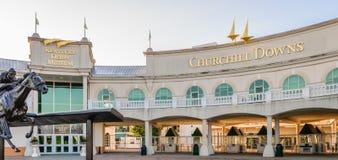 Kentucky Derby muzeum - Churchill Zestrzela Zdjęcia Royalty Free