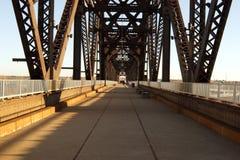 Kentucky en Indiana Railroad Bridge Stock Fotografie
