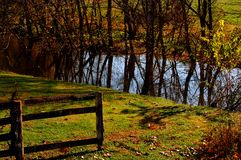 Kentucky Fence Royalty Free Stock Images
