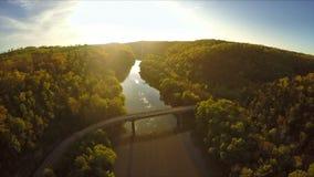 Kentucky-Fluss-Palisaden stock footage