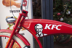 Kentucky Fried Chicken is a fast food chain Stock Photography