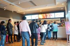 Kentucky Fried Chicken Restaurant Stock Photos