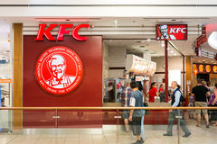 Kentucky Fried Chicken Restaurant Royalty Free Stock Photo