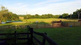 Kentucky hästlantgård Arkivfoton