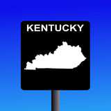 Kentucky highway sign Stock Images