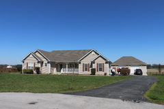Kentucky-Land-Haus Lizenzfreies Stockfoto