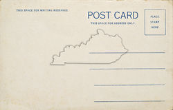 Kentucky Postcard Royalty Free Stock Image