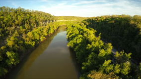Kentucky River Palisades stock video footage