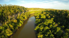 Kentucky River Palisades stock video
