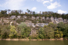 Kentucky River Palisades Royalty Free Stock Photography