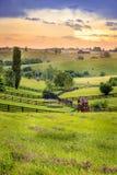 Kentucky rural imagens de stock