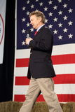 Kentucky Senator Rand Paul speaking in front of flag. Royalty Free Stock Photography