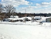 Kentucky  Snow Royalty Free Stock Photography