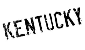 Kentucky stamp rubber grunge Stock Photography