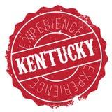 Kentucky stamp rubber grunge Stock Photo