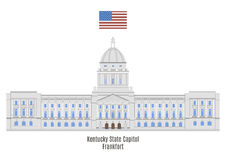 Kentucky State Capitol, Frankfort Stock Photo