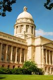 Kentucky State Capitol. The Kentucky State Capitol stands in Frankfort. Kentucky was the 15th state admitted into the United States royalty free stock photo