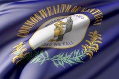 Kentucky State flag Stock Photo