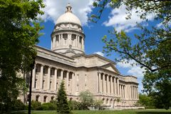 Kentucky Statehouse Stock Photography