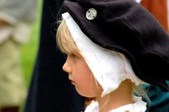 Kentwell Hall Recreation van Tudor Life - 1584 (2007) Royalty-vrije Stock Fotografie